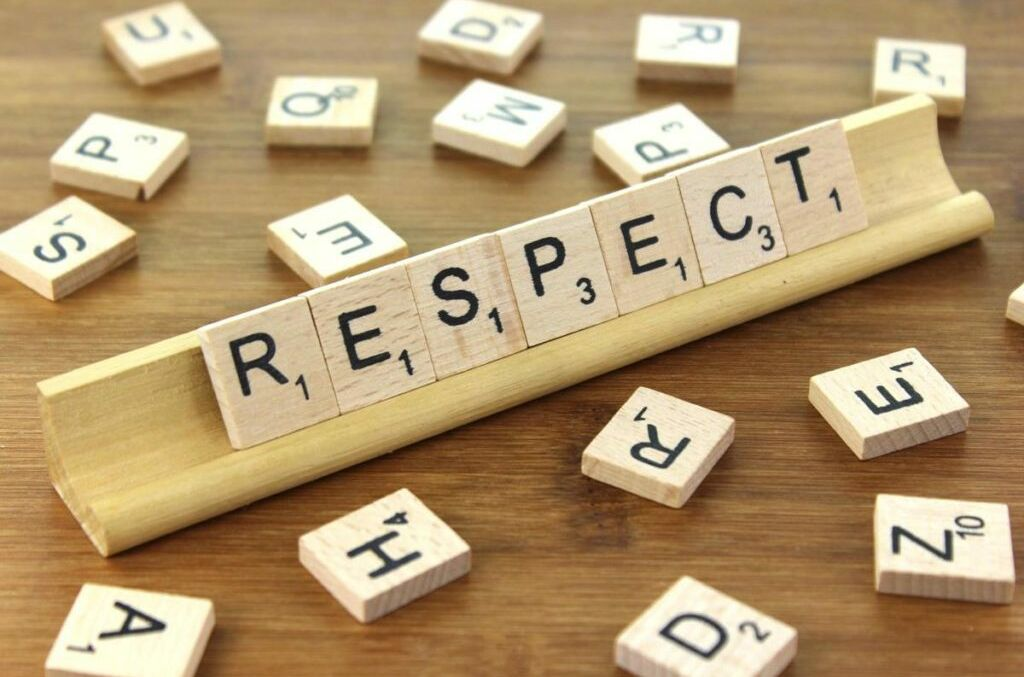 Value for September is Respect