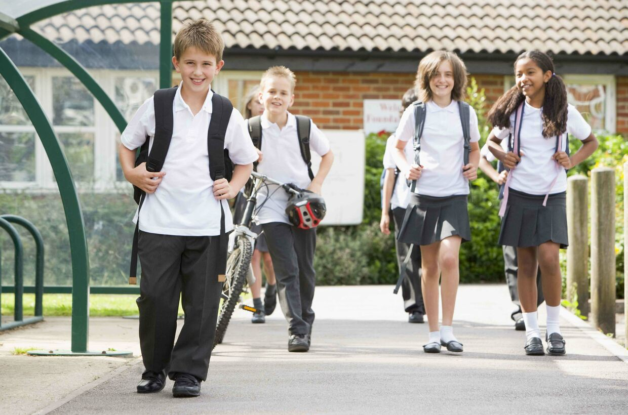 Children Encouraged to Get Active by Walking to School